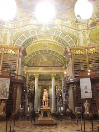 ウィーン!3(墺・チェコ3日目王宮図書館から美術史美術館まで)