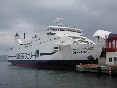 津軽海峡フェリー「ブルードルフィン」乗船と札幌までの道