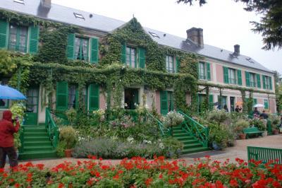 初フランス8日間・欲張り旅行にも程があるの巻5日目【シヴェルニー・ベルサイユ・夜パリ】