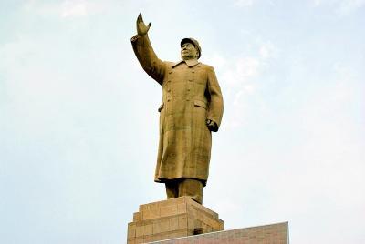 中国の旅 カシュガル(4) 毛沢東さん?