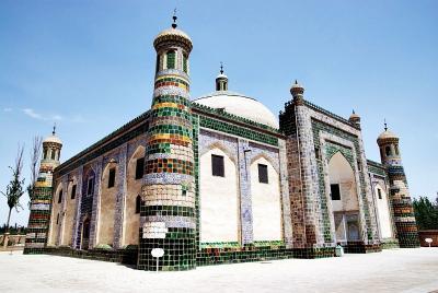 中国の旅 カシュガル(5) アパク・ホージャ墓