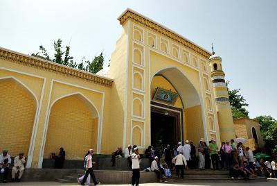 中国の旅 カシュガル(6) エイティガール寺院