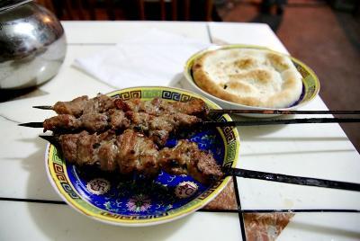 中国の旅 カシュガル(7)  食べました