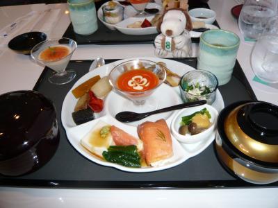 グルメ記◆京都ホテルオークラ・京野菜料理『了以』でランチ(京都市中京区)