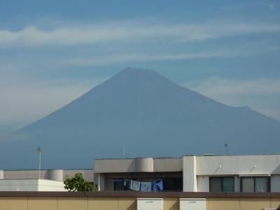 /~~\ 天気が悪くなる前に・・・富士山撮影☆