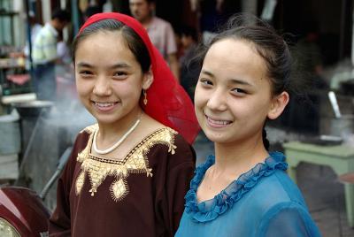 中国の旅 カシュガル(8) 街歩き