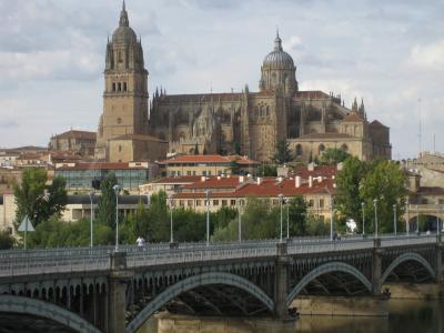 一人旅 a Salamanca