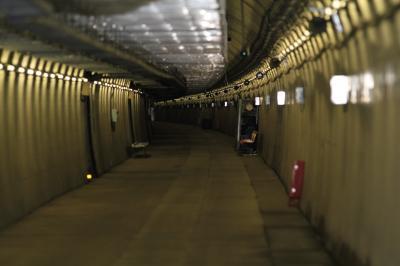 海面下140メートル、海底トンネルの世界へ 「竜飛海底駅見学ツアー」