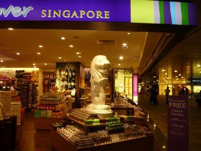 2010年9月 モーリシャス・シンガポール旅行 その6:シンガポール・チャンギ空港にてトランジット その後
