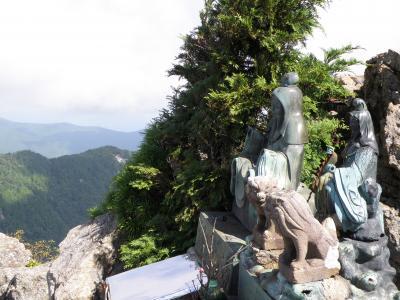 世界遺産大峰山に登る