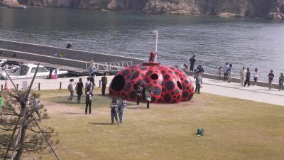 直島で色々と予想外の旅 ~初めての瀬戸内海方面へ④~