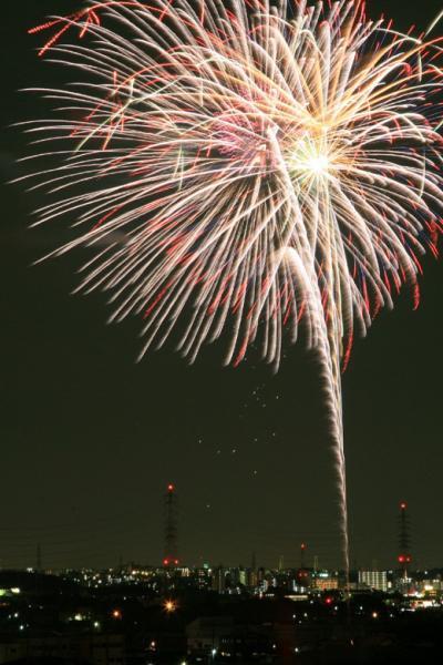 小さな旅●愛知日進市・7年振りに蘇った花火大会 夢花火 2010