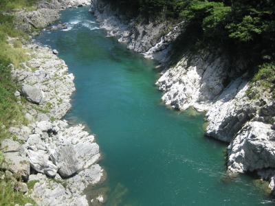 徳島旅行2日目 祖谷渓・かずら橋