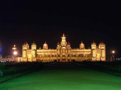 インド バンガロール3泊4日の旅 第一日 マイソール観光