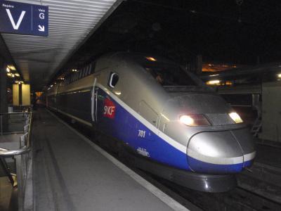 M1 TGVに乗ってちょっとマルセイユまで