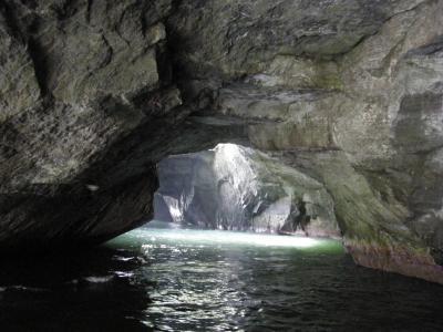 西伊豆堂ヶ島温泉1泊2日旅行 Part-2 (堂ヶ島の洞窟巡り遊覧船編)