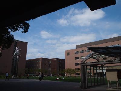 大阪吹田の関西大学にある高松塚古墳再現壁画