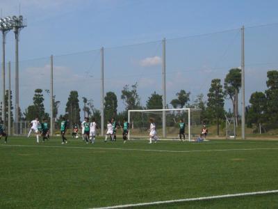 おのだサッカー交流公園で全国社会人サッカー選手権大会を見てみた
