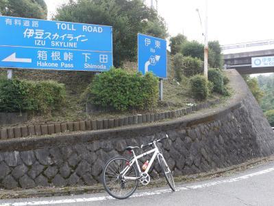 自転車でウロウロ…=②亀石峠を越えて伊東市内へ=