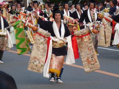 日本三大奇祭? 三年に一度の島田の帯祭り