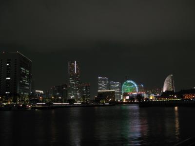 横浜の夜景撮影