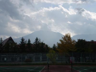 初秋の北軽井沢