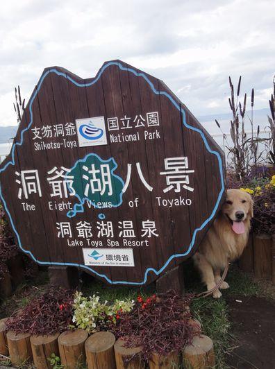 2010.10 犬との旅北海道part6 積丹半島~洞爺湖