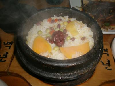 第二の故郷 延辺に帰る 9 百年石鍋飯とリンゴ梨、隣国は北朝鮮