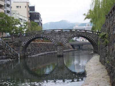 長崎眼鏡橋-中島川界隈