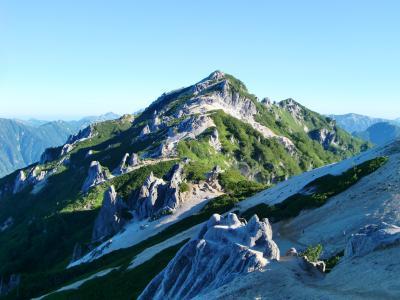 夏山登山 燕岳