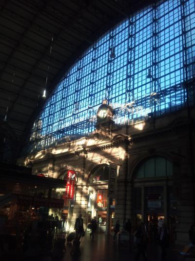 ちょっとだけ、フランクフルト駅で
