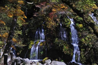 紅葉を求めて=③川俣川渓谷・吐竜滝からの復路=
