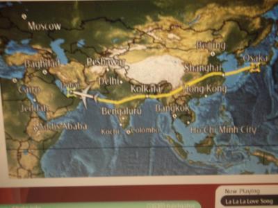 初のイタリア旅行①ドバイトランジット