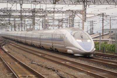 2009.10 500系新幹線「のぞみ」を見に行きました