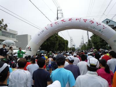 2010年しまだ大井川マラソン in リバティ 参加記