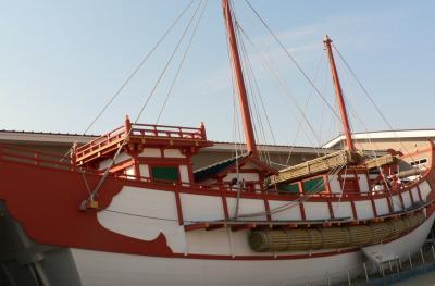 日本の旅 関西を歩く 奈良、「平城遷都1300年祭」遣唐使船復原展示会場周辺