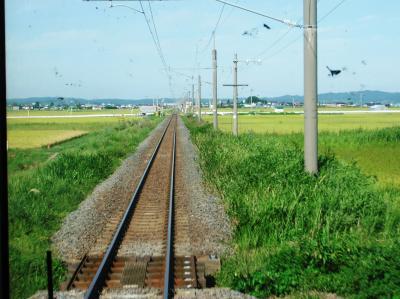 JAL修行~10年09月 秋田 *青森から列車で秋田へ #スリランカ修行その6~