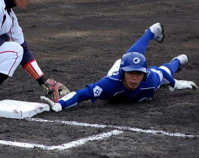 岡崎市民球場で開催された社会人野球日本選手権