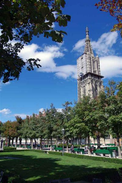 ベルン大聖堂は怖いわぁー?