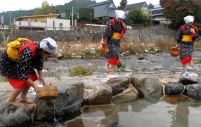 2010年海から山から里から秋の旬の祭り・奥津温泉紅葉まつり