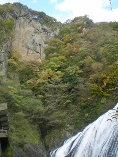 紅葉の三名瀑袋田の滝と秋のフルーツ柿&みかんW狩り