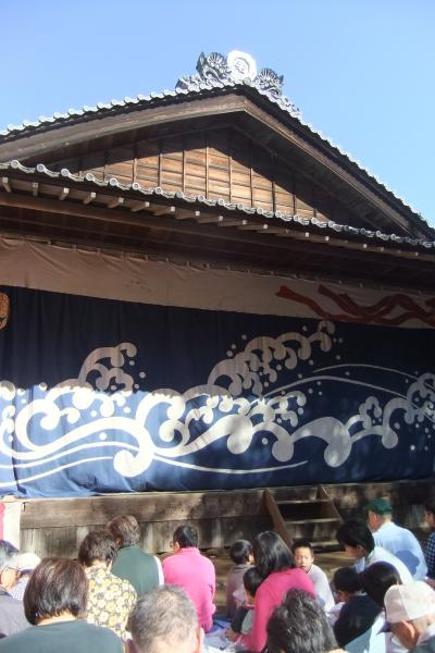 日本民家園で秋川歌舞伎あきる野座公演を見る