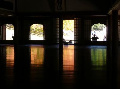 櫂の木の黄葉・紅葉が見事な閑谷学校