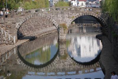 九州の旅②長崎駅~出島~西浜町~観光通り~眼鏡橋~亀山社中
