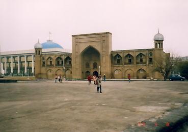 ウズベキスタン:ウルゲンチの旅