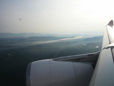 2010年9月 モーリシャス・シンガポール旅行 その25:モーリシャス航空646便にてクアラルンプールへ