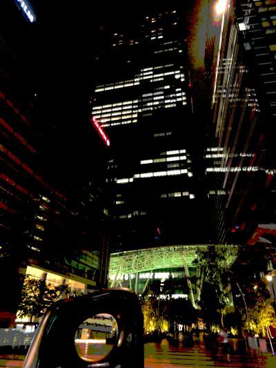 モナの世界の夜景(東京ミッドタウン)