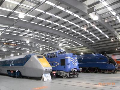 北イングランド紀行2010【シルドンの国立鉄道博物館(The National Railway Museum at Shildon)】