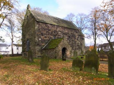 北イングランド紀行2010【サクソン人の教会(The Saxon Church Escomb)】