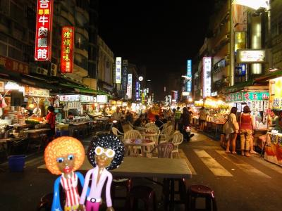 みすたぁの台湾一周うまいもん食べ歩き&温泉巡りの旅 六合夜市 ・ 高雄編